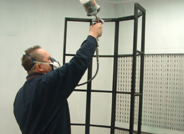 Spray booth image
